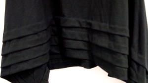 Detalhe da barra preta